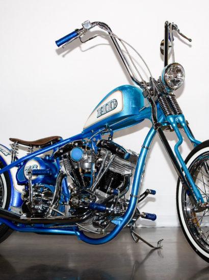 Chopper Bleu Shovelhead